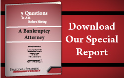 Download the Bankruptcy Special Report by Louisville, KY Firm Spalding & Spalding